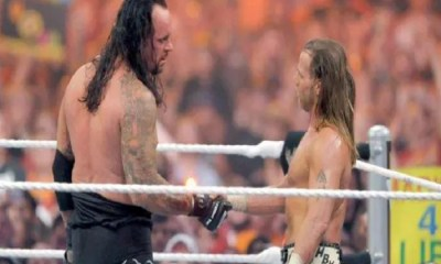 undertaker and shaun michaels