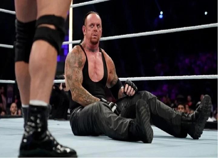 undertaker near death experince