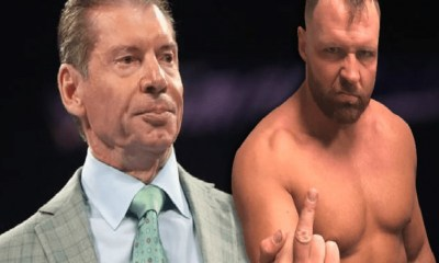 AEW Jon Moxley and Vince McMahon