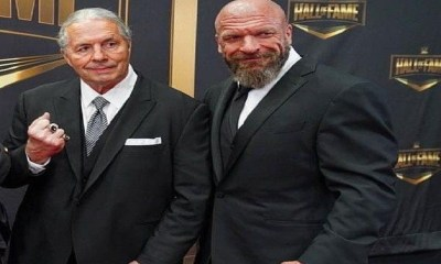 Bret Hart and Triple H