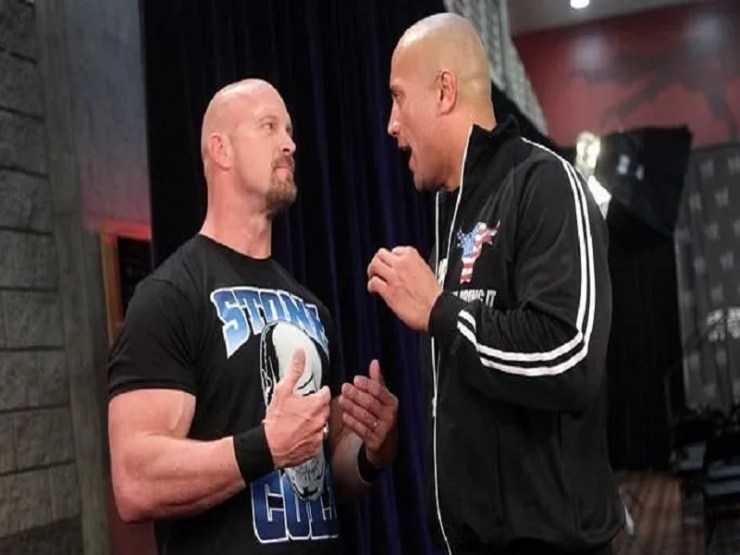Stone cold The rock