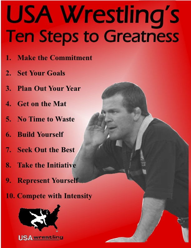 Ten Steps To Wrestling Greatness