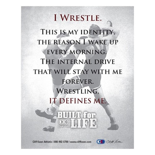 I Wrestle. This is my Identity.