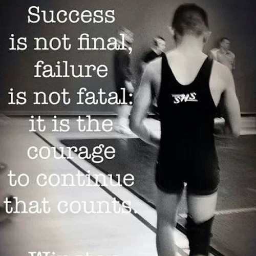 Success is not Final & Failure is not Fatal.
