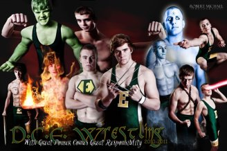 Super Hero Wrestlers