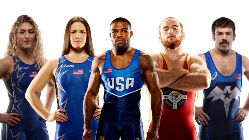 Returning Olympic champions, new Olympic wrestling stars.