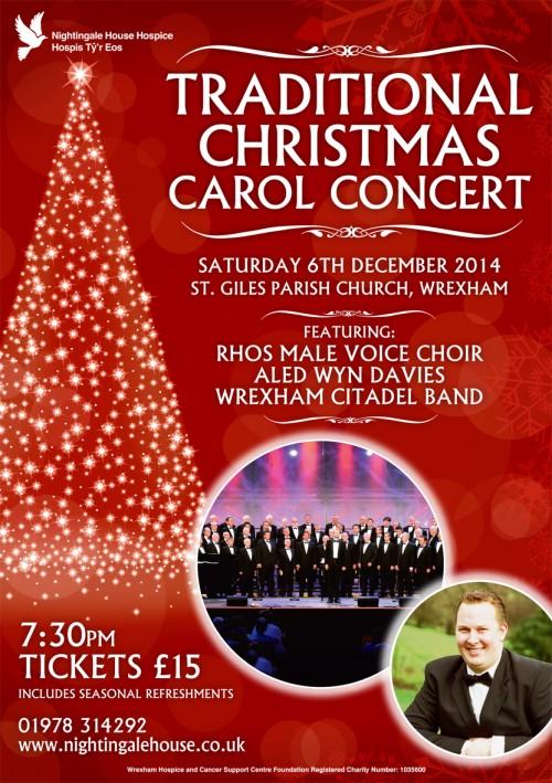 Traditional Christmas Carol Concert  Wrexhamcom