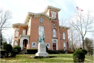 The former Fenton Mansion, home of the Fenton History Center in Jamestown NY.
