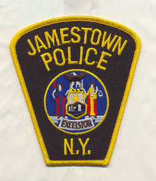 Jamestown Police Badge