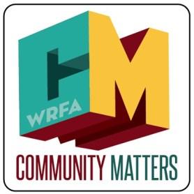 WRFA - Community Matters Logo