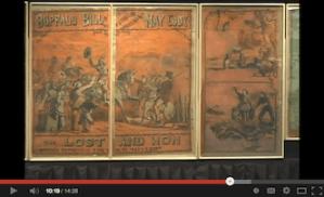 [WATCH] Video Shows Restoration Effort of Buffalo Bill Cody Billboard in Jamestown