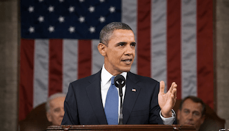 President Obama delivering the 2014 State of the Union (image from whitehouse.gov)