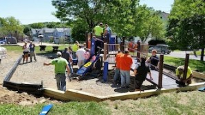 New Playground Equipment Installed at Lillian Dickson Park