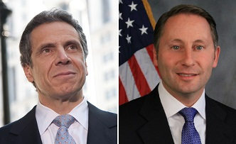 Governor Andrew Cuomo (left) and his Republican Opponent Rob Astorino.