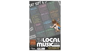 [LISTEN] Eleventh Annual Local Music Showcase is Sept. 6 in Downtown Jamestown
