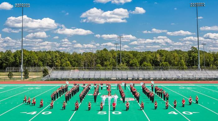 The 2014 JHS Marching Band
