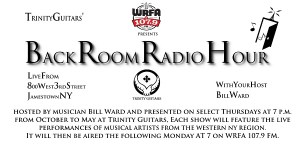 March 'Back Room Radio Hour' to Feature Bluegrass Gospel and Sue Tillotson & Jim Cunningham