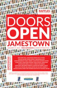 Doors Open Jamestown Returns on Saturday, January 17