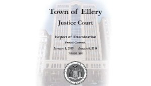 State Comptroller Releases Critical Report on Town of Ellery Clerk's Office
