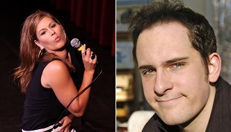 Comedians Kerri Louise and Jon Rineman will be at the Lucy Desi Center on Valentine's Day, 2015.