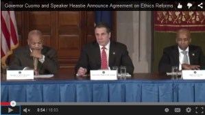 [WATCH] Governor, Assembly Reach Ethics Agreement