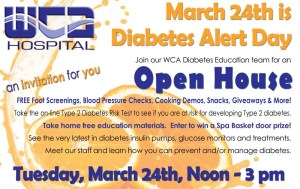 WCA to Hold Open House at New Diabetes Education Center Tuesday Afternoon