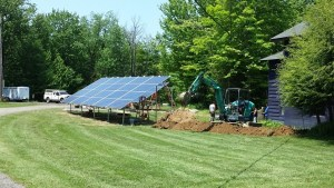 Fredonia's College Lodge Adds Solar Panels