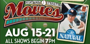 Greatest Baseball Movies to Be Screened at Reg Lenna, Starting Saturday