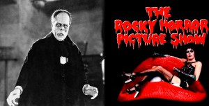 Spooktacular Movie Double Header with Phantom of the Opera, Rocky Horror Picture Show in Downtown Jamestown