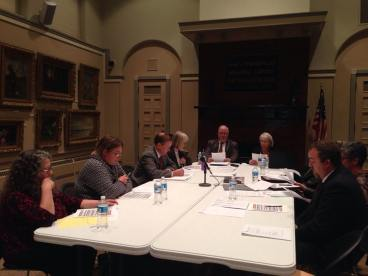 Prendergast Board of Directors during its Oct. 22, 2015 meeting.