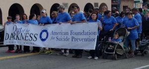 Fourth Annual 'Out of the Darkness Walk' for Suicide Prevention is Saturday