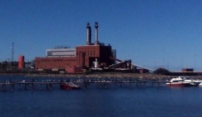 NRG Power Plant in Dunkirk