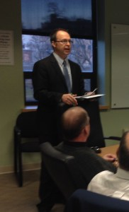 Chamber president Todd Tranum.