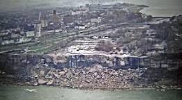 American Falls at Niagara, circa 1969