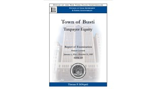 State Audit Finds Busti Officials Mishandled Appropriation of Funds for Highway Equipment