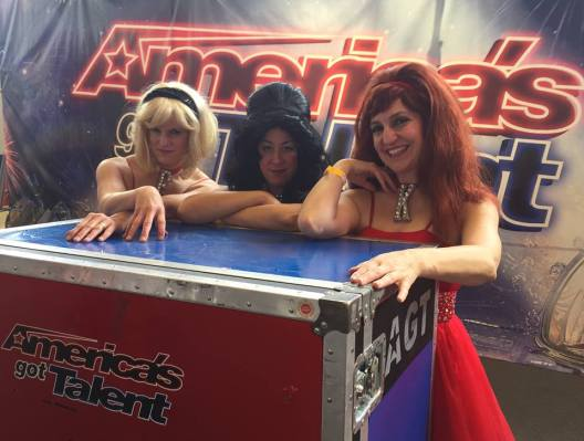 The Boobe Sisters: (From L to R) Heather Stewart,  Leah Finkelstein, and Karen Volpe.