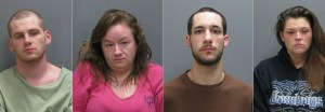 Four Face Drug Charges Following Tuesday Morning Traffic Stop in Jamestown