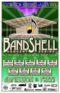 City Summer Banshell Concert Series to Feature Swedish Music and Dancers