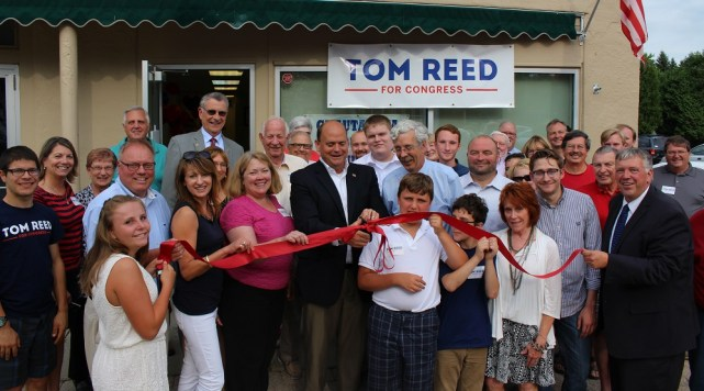 Several Republican candidate were in Lakewood Tuesday to open the party's official 2016 election headquarters for Southern Chautauqua County.