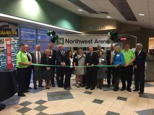 Northwest Arena Holds Ribbon Cutting Ceremony to Mark New Name