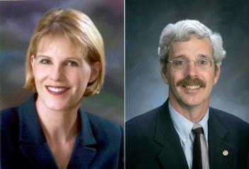 Senator Cathy Young and Assemblyman Andy Goodell.