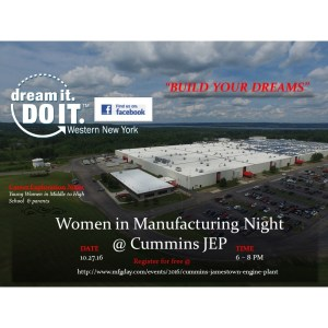 [LISTEN] Cummins to Host Women in Manufacturing Panel for Local Student on Thursday, Oct. 27