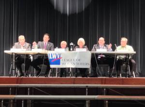 Reed and Plumb Square off for Second Debate in Mayville