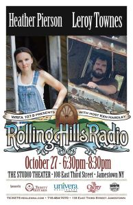 [LISTEN] Rolling Hills Radio Ep. 57 – Heather Pierson and Leroy Townes