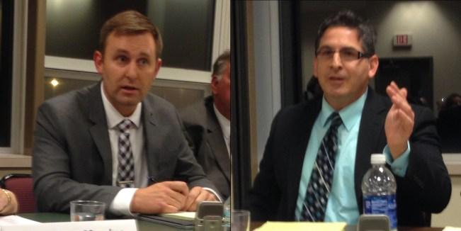 Patrick Swanson (left) and Jason Schmidt