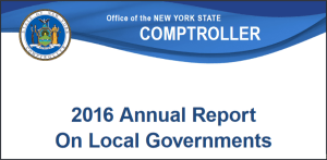 State Comptroller Report Shows Local Governments Challenged by Slow Revenue Growth