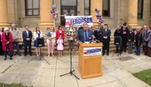 [LISTEN] Democrats Announce Mike Ferguson as Candidate for Chautauqua County Executive
