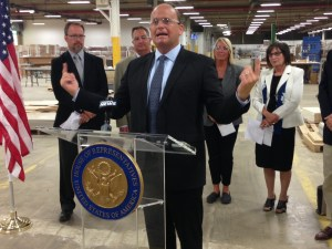 Reed Promotes New Manufacturing Legislation During Stop in Jamestown