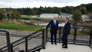 State Comptroller Gets Update on Economic Development Projects During Tour of Jamestown
