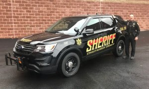 Sheriff Gerace Announces New Patrol Car and Design